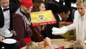 oscars 2014 ellen pizza